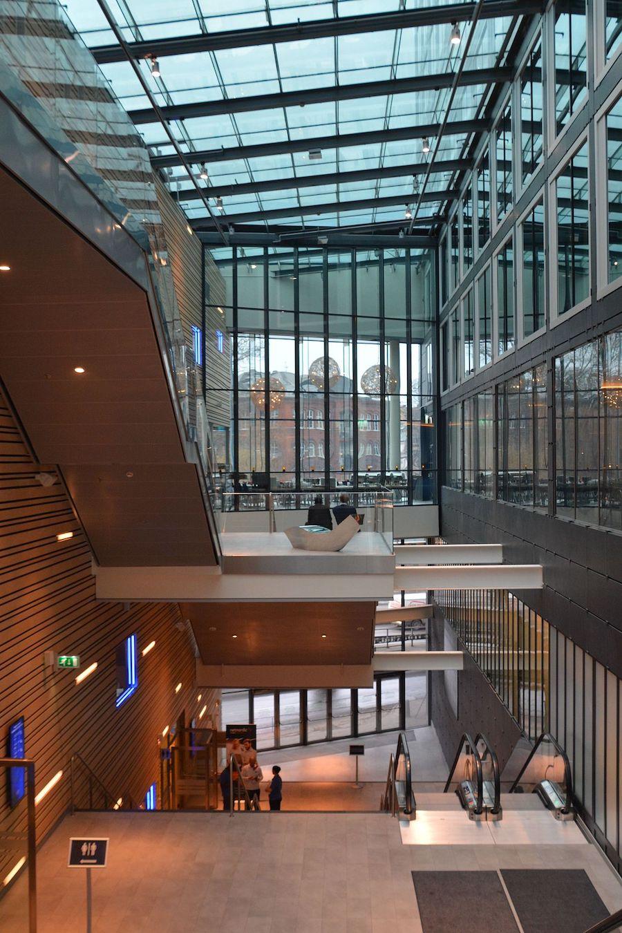 Entreprenad Stockholm Waterfront konferenscenter