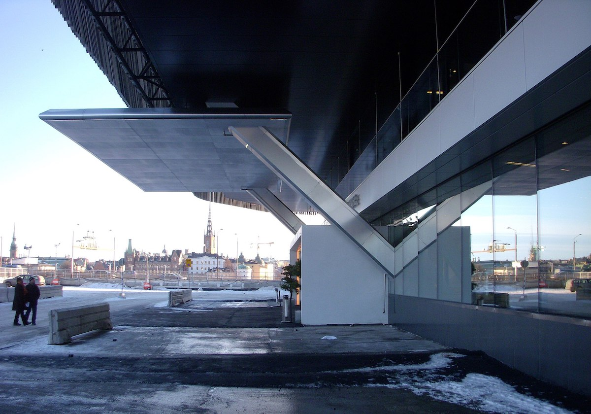 Projektet MälarrörStockholm Waterfront konferenscenter